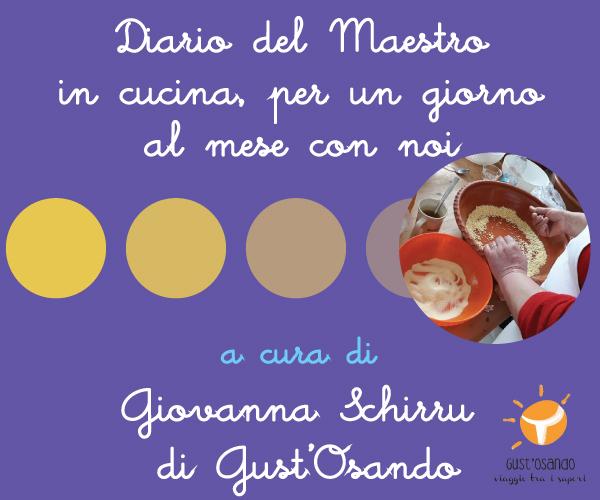 Giovanna Schirru, Maestro in cucina